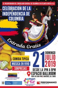 COLOMBIA INDEPENDENCE DAY 2019